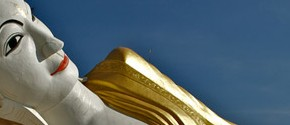 World's largest reclining Buddha